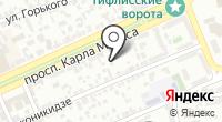 Инфосервис на карте