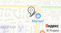 Универсам на ул. Чехова на карте