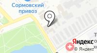 Светлоярский на карте