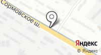 Указатель системы городского ориентирования №5999 по ул.Сормовское шоссе на карте