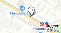 Указатель системы городского ориентирования №10153 по ул.Сормовское шоссе на карте