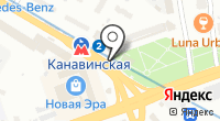 Указатель системы городского ориентирования №5962 по ул.Сормовское шоссе на карте