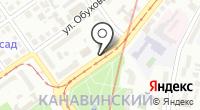 Указатель системы городского ориентирования №6226 по ул.Чкалова на карте
