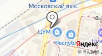 Указатель системы городского ориентирования №5847 по ул.Фильченкова на карте