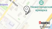 Стик на карте