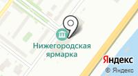 Авангард на карте