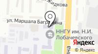 ННГУ на карте