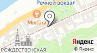 Указатель системы городского ориентирования №5464 по ул.Рождественская на карте