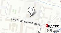Кабриолет на карте