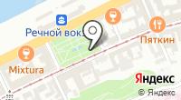Указатель системы городского ориентирования №40933 по ул.Рождественская на карте