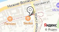 Указатель системы городского ориентирования №6372 по ул.Рождественская на карте