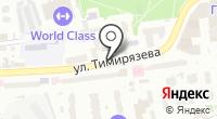 Указатель системы городского ориентирования №6689 по ул.Тимирязева на карте