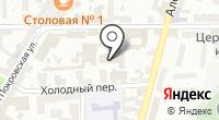НАИС на карте