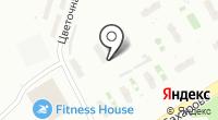 Автосервис на Цветочной на карте