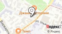 Указатель системы городского ориентирования №5685 по ул.Ульянова на карте