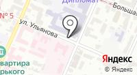 Указатель системы городского ориентирования №6309 по ул.Ульянова на карте