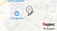 Автосервис на Яблоневой на карте