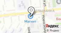 Магазин сувенирной продукции на карте