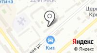 Денс на карте