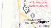 Магазин трикотажный изделий на Дегтярной на карте