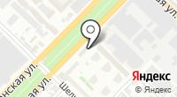 Навигационная фирма на карте