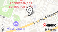 Уголовно-исполнительная инспекция Волжского района на карте