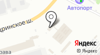 Троллейбусное депо на карте