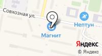 Лапсарский на карте