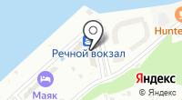 Чебоксарский речной порт на карте