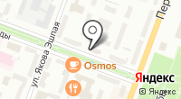 Матрица на карте