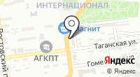 Кулон на карте