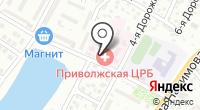 Приволжская центральная районная больница на карте