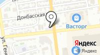 Институт моды на карте