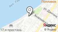 Волга-стрит на карте