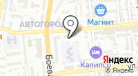 Астраханское цифровое телевидение на карте