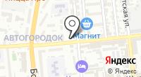 Магазин-ателье по пошиву и ремонту одежды на Моздокской на карте