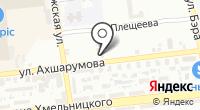 Автостудия на карте