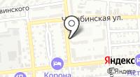 Стеклофф на карте