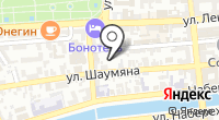 Черновская на карте