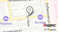 Автоком на карте