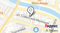 Эрида на карте