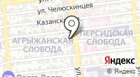 Линлайн на карте