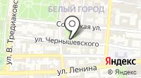 Буква на карте
