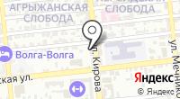 У Дмитрия на карте