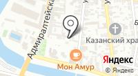 Фон на карте