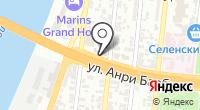 Энфорта на карте