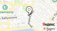 Административно-гостиничный комплекс Правительства Астраханской области на карте