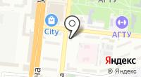 Магазин товаров для спорта и туризма на карте
