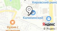 Мамонтенок на карте