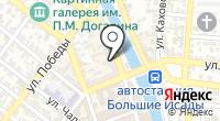 Силуэт Аст на карте